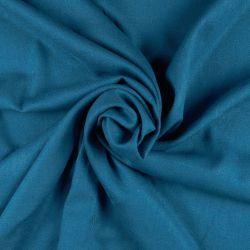 Viscosa con lino color tejano