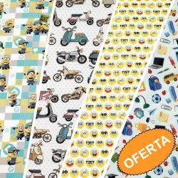 Outlet patchwork infantil
