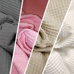 Waffle colores lisos