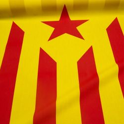 "Bandera ""Estelada"" amarilla"