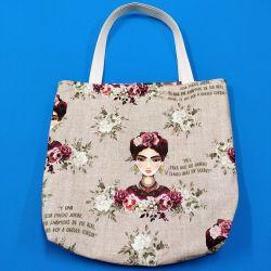 Bolsa reversible Frida Kahlo