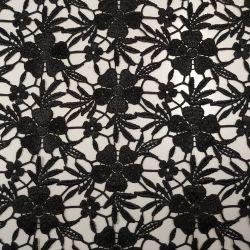 Guipur color negre