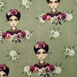 Loneta Half Panamá Frida Kahlo