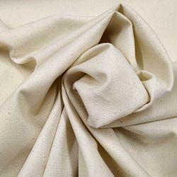 Lona algodón 155 cm cruda